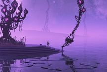 Purple Passions! / Purple, Lavendar, Eggplant, Violet, Lilac, Royal Purple, Plum, Amethyst, Orchid, Periwinkle, Amaranthine, Heliotrope, Blue-Violet, Perse, Aubergine, Violaceous !! / by Marsha Martone