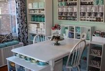 Craft Room Inspiration / by Tammy Walters Parizek