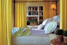 Color: Yellow / Say hello to yellow! The color can be both sunny and sophisticated.  / by Veranda Magazine