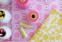 Pink and Yellow Color Schemes / by Bratenella