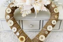 * So Many Wreathes * / Wreathes of every kind for any occassion, except Christmas! / by Karen {icandyvintagejewels}