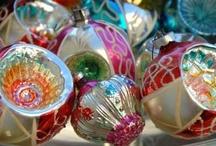 * Christmas Ornaments * / by Karen {icandyvintagejewels}
