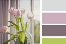 * Color Palettes * / by Karen {icandyvintagejewels}