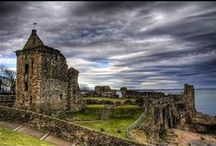 Scottish Castles / The mapping is as accurate as I can get it but it's not perfect. / by Annette Heathen