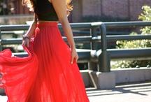 fashionista. / by Hannah Doan