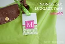 Monograms, the personal touch / by Kristina Reynolds-Haney