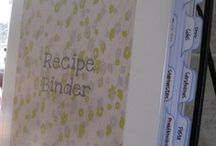 Binders - Recipes / by Melissa {Taylor-made Cakes}