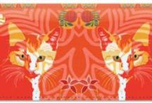 Paula Ogier: Licensed Artist Series / We use the colorful designs of Paula Ogier in our checks, address labels, and checkbook covers. If you're a fan of her art, repin it now!  Be sure to check out her website at- http://www.paulaogierart.com/index.html / by CheckAdvantage LLC