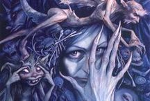Favourite Fantasy Art (by other people) / by Graphic Allusions