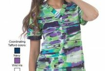 New Tafford Spring Prints / Brighten up your wardrobe for Spring with New Tafford Prints! / by Tafford Uniforms