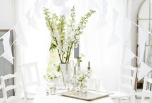 DECORATE - All in white / by Lucy (Craftberry Bush)