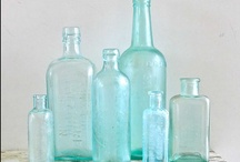 jars and glass / by Lucy (Craftberry Bush)