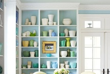 your hutches and shelves / by Lucy (Craftberry Bush)
