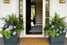 your front porch / by Lucy (Craftberry Bush)
