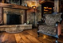 Our Products / Olde Wood Antique hickory hardwood flooring. Rustic, Elegant and Refined   / by Olde Wood Limited