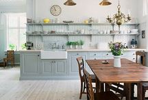kitchens / by Monica