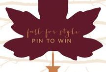 Fall for Style. Pin to Win. / by Natick Mall