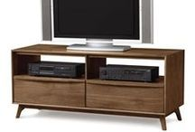 TV Cabinet & Entertainment Center / Each entertainment center is built to order in Vermont using sustainably harvested, natural solid hardwoods. You can customize your own environmentally friendly media console to be perfect for your living room. / by Vermont Woods Studios Furniture