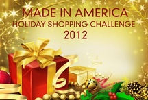 American Made / For this holiday buying season, we are urging people to purchase gifts made in America! The National Retail Federation predicts Americans will spend about $586.1 billion this holiday season! Imagine the the impact we could have on the economy if just a portion of the spending was on USA Made products. / by Vermont Woods Studios Furniture