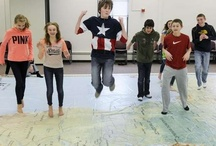 Giant Map of Africa visits Sartell / by St. Cloud Times newspaper/online