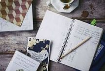 Inspiring Journals / Inspiring journals and the occasional craft project / by besottment by paper relics
