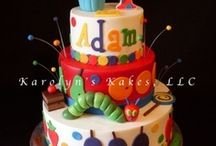 VHC (Very Hungry Caterpillar) Birthday Ideas / by Gisela Schafer
