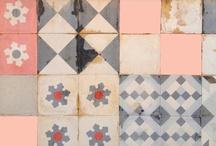 Tiles / by Corinne Kowal @emeraldgreeninteriors.com
