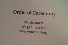 wedding ideas / by Emilee Wyrick