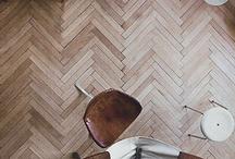 Wood Flooring / by Corinne Kowal @emeraldgreeninteriors.com