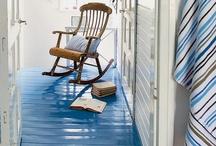 Painted Floors / by Corinne Kowal @emeraldgreeninteriors.com
