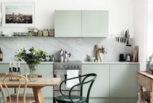 Colorful Kitchens / by Corinne Kowal @emeraldgreeninteriors.com
