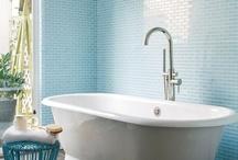 Colorful Bathrooms / by Corinne Kowal @emeraldgreeninteriors.com