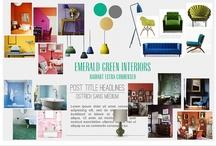 My Blog: Emerald Green Interiors / by Corinne Kowal @emeraldgreeninteriors.com