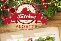 In the Kitchen with Aloette / Need some recipe tips for the season? Here are some of our favorites! / by Aloette Cosmetics