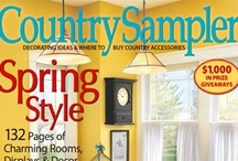 From our May 2012 issue / Items found on our May 2012 cover, plus some of our favorite photos from the issue. / by Country Sampler Magazine