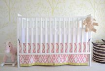 Girly nursery ideas / by Tonya Strickland