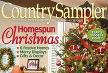 From our November 2013 Issue / Products, homes and ideas from our festive November 2013 issue. / by Country Sampler Magazine