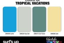 Colors for Tropical Vacations / by CertaPro Painters®