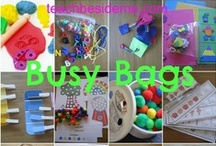 Busy Bags / Ideas for toddler busy bags. / by TJ | MeasuringFlower.com
