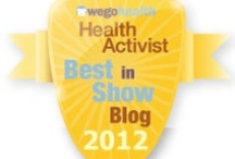 #HAAawards - Best in Show: Blog / Awarded to someone who exemplifies the use of blogging to raise awareness and make connections.  / by WEGO Health