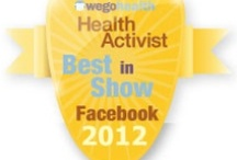 #HAAwards - Best in Show: Facebook / Awarded to someone who exemplifies the use of Facebook to raise awareness and make connections.  / by WEGO Health