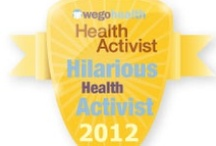 #HAAwards - Hilarious Health Activist Award / Awarded to the Health Activist who makes you laugh alongside their advocacy.  Nominate your favorite comedian. / by WEGO Health