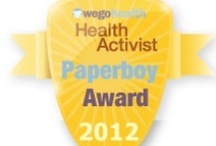 #HAAwards - Paperboy Award / Awarded to the Health Activist who always delivers the latest and greatest health news and research. / by WEGO Health