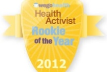 #HAAwards - Rookie of the Year Award / Awarded to a Health Activist who came on the scene in 2012 but has inspired the entire community.  / by WEGO Health