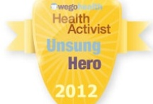 #HAAwards - Unsung Hero Award / Awarded to the member of your community who is always helping, advising, and sharing – but may not know how amazing and valuable they are.  / by WEGO Health