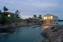 Boat house / For inspiration with as goal to build your own.. / by Michiel Zwart