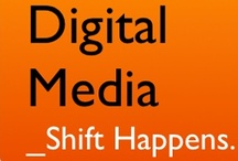 Digital Media Nerd / Best Infographics and Images on Digital Media / by Rekha Prasad