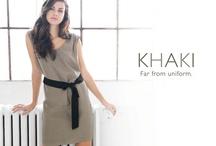 Khaki - Far From Uniform / by RW&CO.