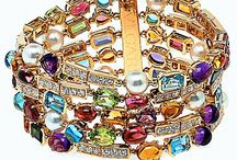 BEJEWELLED . BE DAZZLED . BE BOLD / Adoring jewels, classic metals, coveted stones and healing semi-precious gems.  The best way to warm a girls heart is always through a great piece of jewelry. / by TRENDSPOTTER