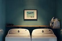 laundry space / by Amanda McCloskey
